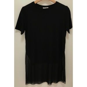 Pond black t shirt. Zara
